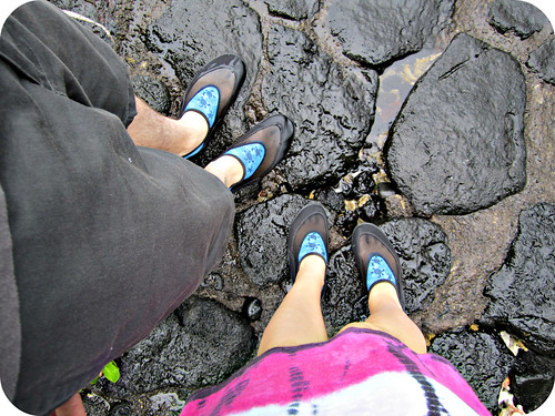 yes, we're that nerdy and have matching water shoes.