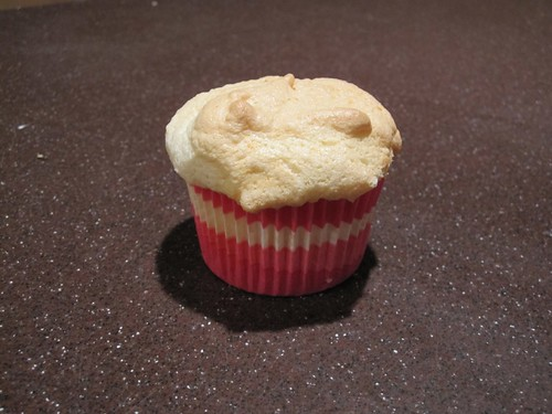 Angel food cupcake