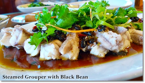 Steamed Grouper with Black Bean
