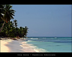 Azul da cor do..... (A. Teixeira) Tags: ocean beach sand waves dominican republic