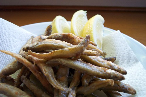 deep-fried smelt
