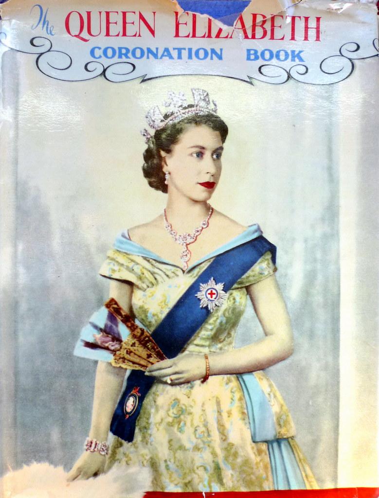 Queen Elizabeth, the Coronation Book 1953