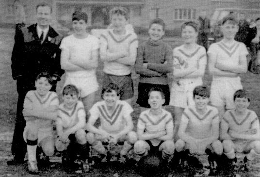 Cranhill Football Team (11 man) 1960s