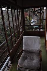 清晨的椅子