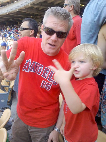 Angels v Dodgers