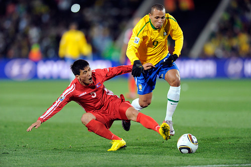 World Cup 2010 South Africa: Brazil v Korea DPR