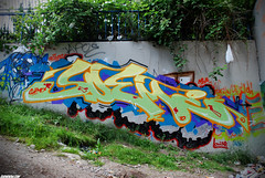 Sueme (Scotty Cash) Tags: vancouver graffiti 2010 nwk sueme 9lives wwwsuemenowcom