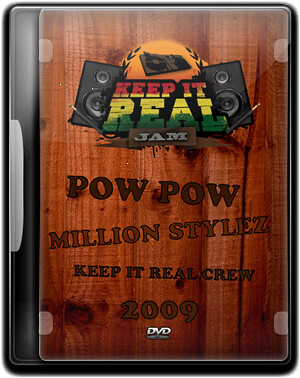 DVD Cover Keep It Real Jam 2009