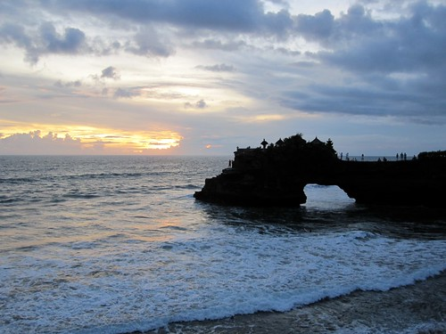 Tanah Lot at Sunset 2
