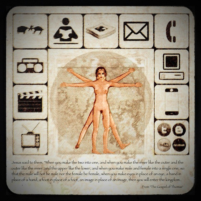 Davinci, McLuhan, Jesus & Me: The avatar as transcendent extension
