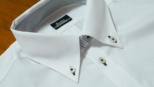 ワイシャツのデザイン