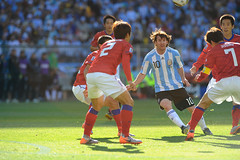 World Cup 2010 South Africa: Argentina v Korea Republic (toksuede) Tags: world africa cup sports argentina sport del america foot football nikon republic fussball soccer south korea du weltmeisterschaft seoul di deporte monde futbol coupe mundo copa futebol d3 2010 calcio