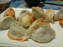 Veg Dumplings @Shanghai Noodle AUD7.50 f