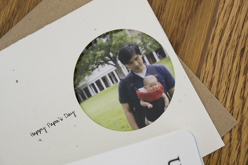 Papa's Day Card - Closeup