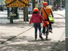 Orange on wheels  - #oranje (Jacco van Giessen) Tags: orange holland netherlands dutch team support soccer nederland x supporter worldcup mania voetbal oranje 2010 elftal peoplealbum gekte 11tal oranjeset