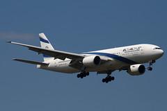 4X-ECD - 33169 - El Al Israel Airlines - Boeing 777-258ER - 100617 - Heathrow - Steven Gray - IMG_4663