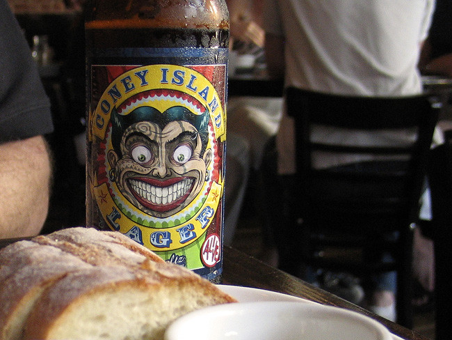 Coney Island Lager, in Brooklyn