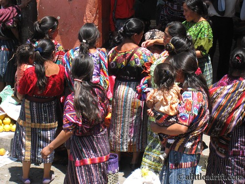 Women at Chichi Market