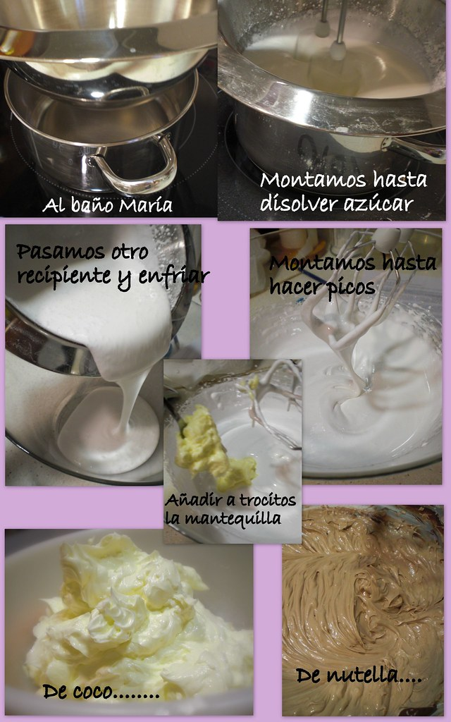 2 BUTTERCREAM SWISS MERENGUE