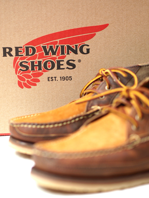 Red Wing for J.Crew / Rugged Leather Chukka Boot