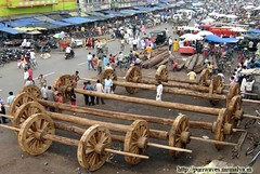 Rathyatra 2010 Work Progress :: Chariot Wheel