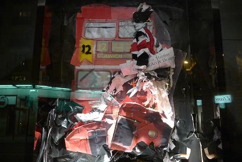 Vitrines Le Bon marché fait son Numéro - Paris, octobre 2010