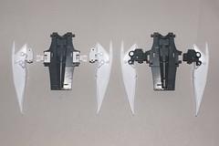 1/72 トルネード 翼付け根パーツ 新旧比較