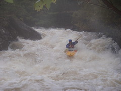 Kayaking the Falls of Leny, Scotland