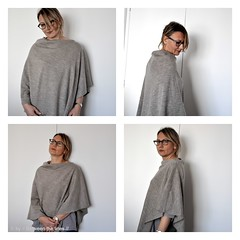 100% Easy Single Seam Poncho