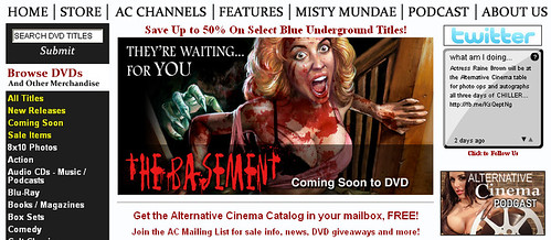 """The Basement"" (1989) - 2011 announce"