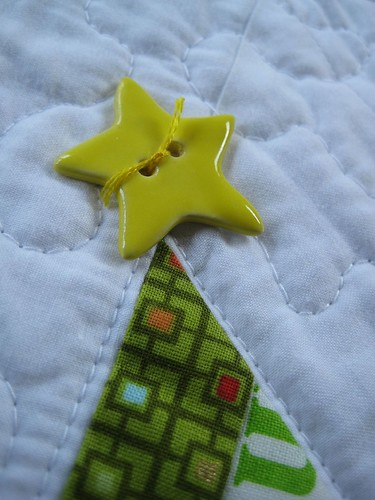 ceramic star button