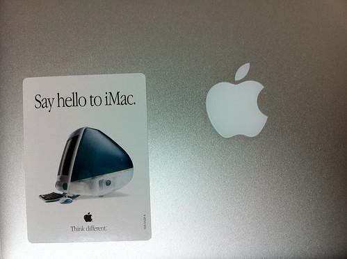 iMac sticker