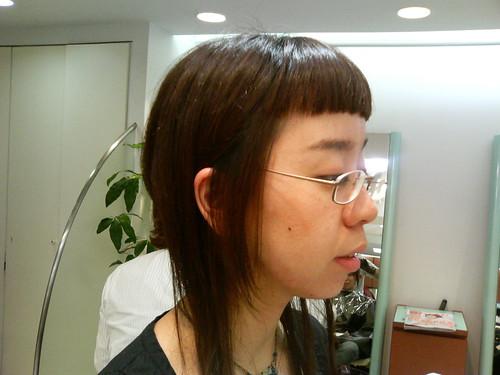 2010/10/28 HAIR CUT!!!(2007/4/22)