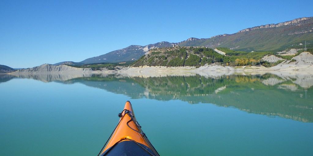 Pantano de Yesa en kayak 028