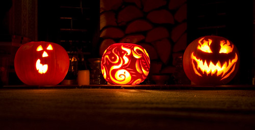 Pumpkins Three - Copyright R.Weal 2010