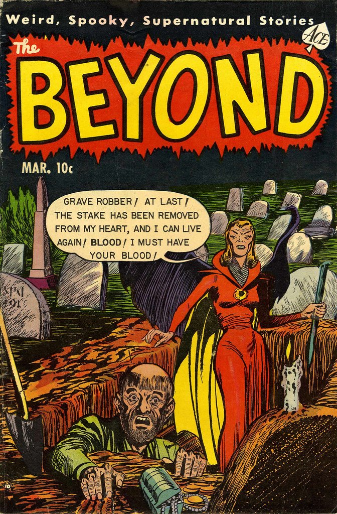 The Beyond #19 (Ace, 1953)