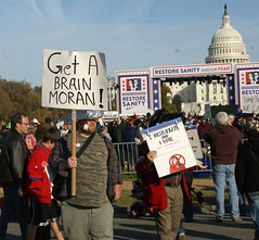 Get A Brain, Moran! (Stephen Little) Tags: show people signs sign mall march washingtondc dc washington costume concert districtofcolumbia jonstewart election comedy unitedstates fear political politics capital rally protest performance demonstration capitol stewart restore irony nationalmall comedian johnstewart ironic vote crowds sanity colbert dailyshow voter stephencolbert comedycentral firstamendment attendee stewartcolbert tamronaf1750mmf28 10302010 october302010 marchtokeepfearalive rallytorestoresanity keepfearalive rally4sanity rallytorestoresanityandorfear restoresanity sanityandorfear rallytorestoresanityanoffear fearalive rallyfear jstephenlittlejr