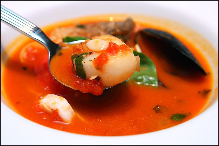 scallop-soup