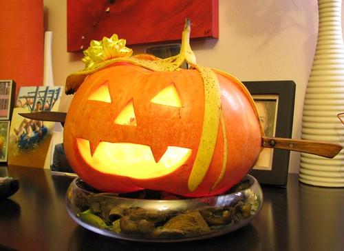 bostan pentru Halloween