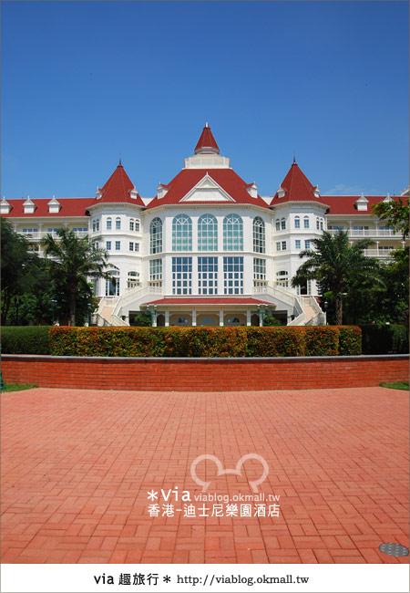 【香港住宿】跟著via玩香港(4)~迪士尼樂園酒店(外觀、房間篇)8