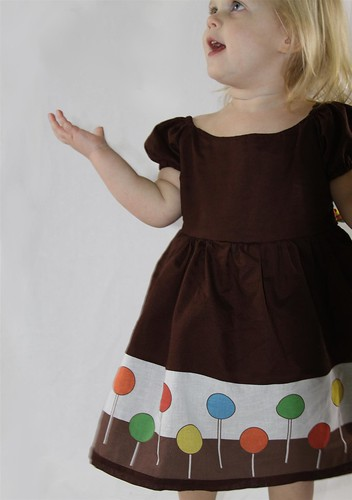 Handmade Toddler Lollipop Dress