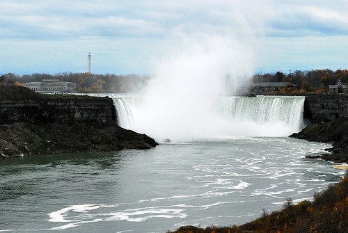Niagara Falls from afar