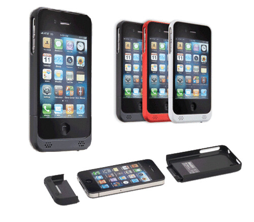 Tekkeon\'s Unique Battery Case Powers Iphone 4 With Exchangeable Battery Module