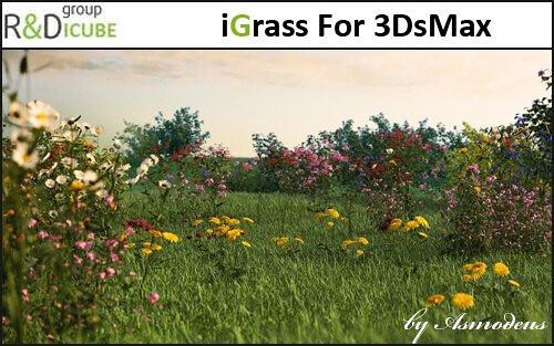 iCube R&D - iGrass For 3DsMax