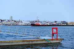 A new small dock (GeirB,) Tags: november port boat nikon ship tug nikkor havn finnmark vads varanger vadso slepebt
