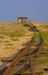 Derelict shed Dungeness Kent (Dick Bulch) Tags: kent dungeness dereliction