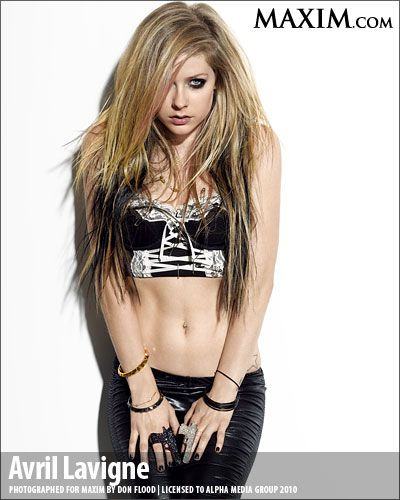 Avril Lavigne - MAXIM Photoshoot November 2010