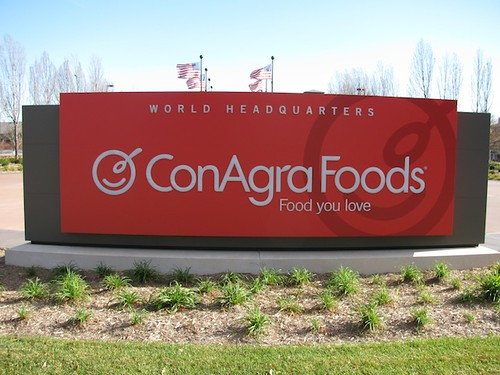 ConAgra Foods Sign at the World Headquarters