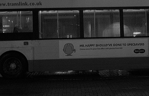 Mr Happy Bus