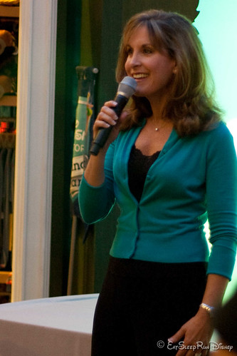 Jodi Benson, the voice of the Little Mermaid